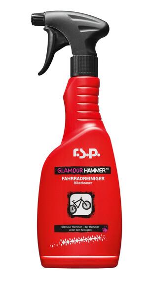 r.s.p. Glamour Hammer fietsreiniger Stark 500ml rood